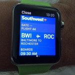 Apple Watch Flight Info
