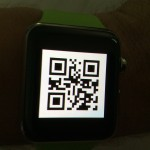 Apple Watch Flight Checkin QR