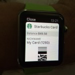 Apple Watch Starbucks Pay
