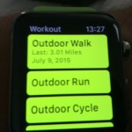Apple Watch Workout App