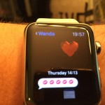 Apple Watch Incoming Text and Heart Emoji