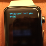 Apple Watch Siri by Pressing & Holding Button