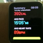 Apple Watch Workout App Example 14 of 15