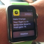 Apple Watch Expedia Gate Change Update